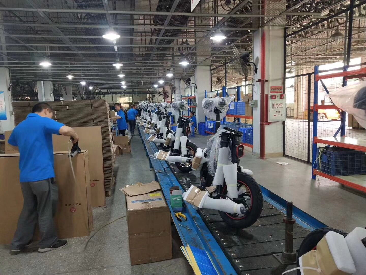 Dyu Electric Bike Factory Visit Discover The Best Electric Bike