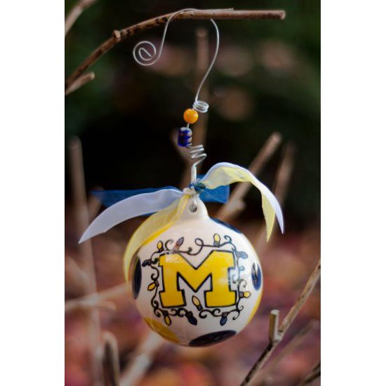 Glory Haus University of Michigan Christmas Ornament ... Available at the  M-Den - Glory Haus University Of Michigan Christmas Ornament Available