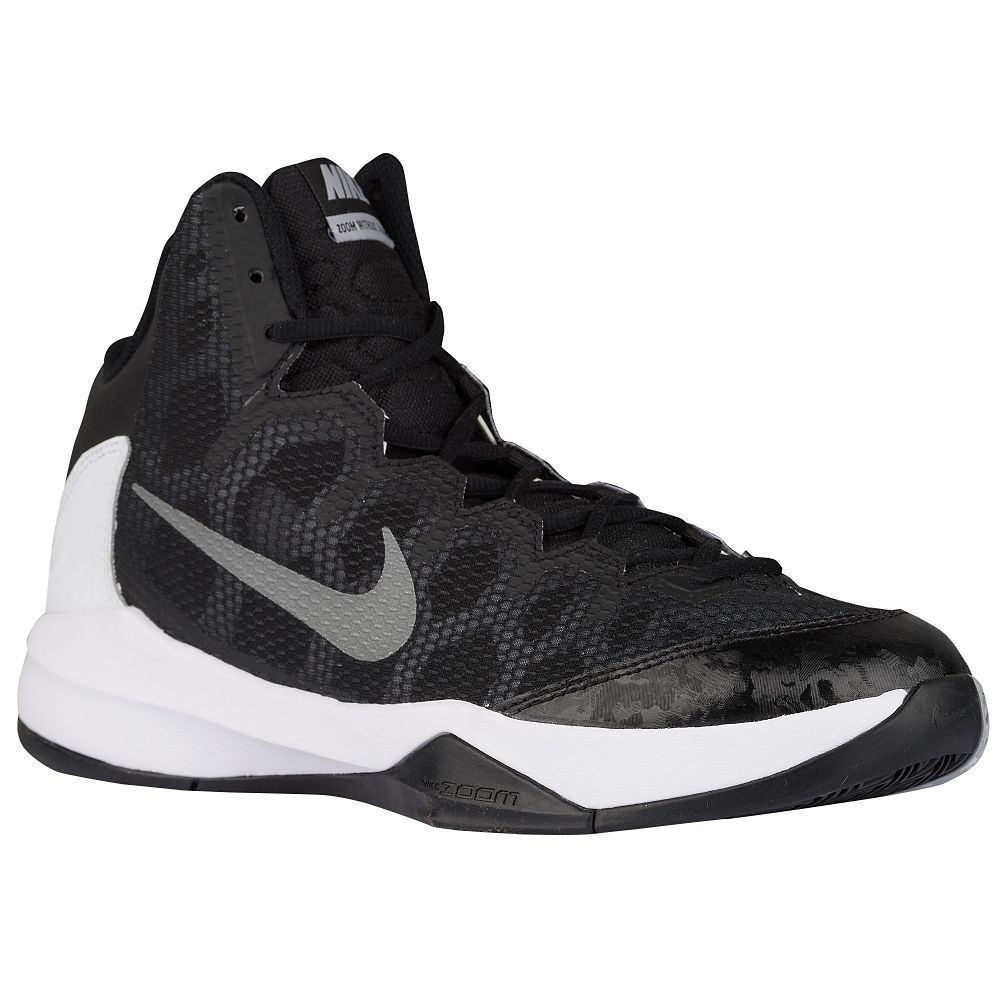 Nike Zoom Without A Doubt Black Mens High Basketball Hyperdunk Hyperrev  Size 14 #Nike #