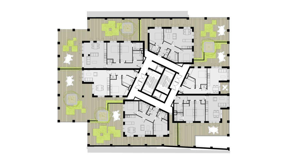 17 21 Wenlock Road How To Plan Floor Plans Cube