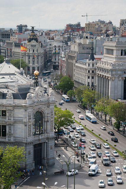 Edificio Del Banco De Espana Madrid Viajar Por Espana Lugares De Espana Fotos Antiguas Madrid