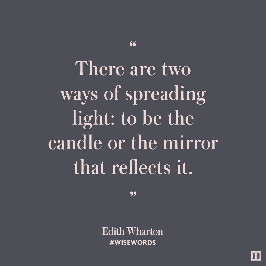 #WiseWords From Edith Wharton
