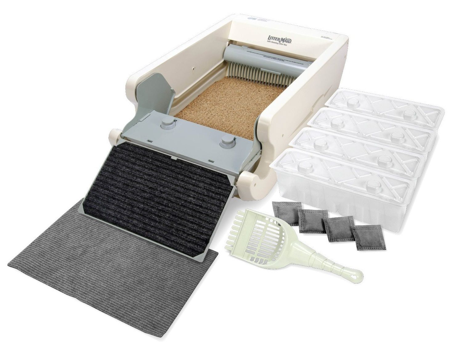 Littermaid Lm680c Automatic Self Cleaning Classic Litter Box Review Self Cleaning Litter Box