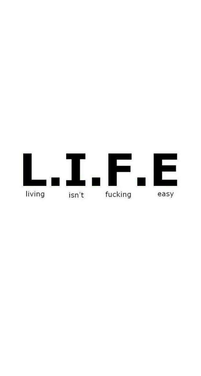 LIFE isn't easy - -