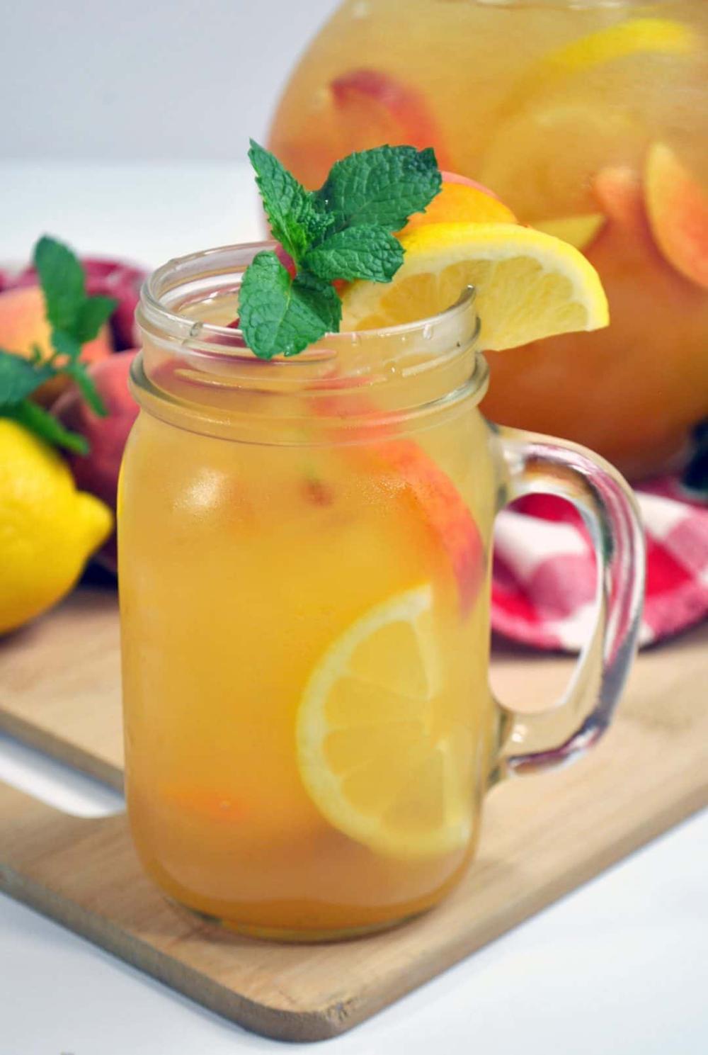 SugarFree Peach Lemonade Recipe Sugar free lemonade