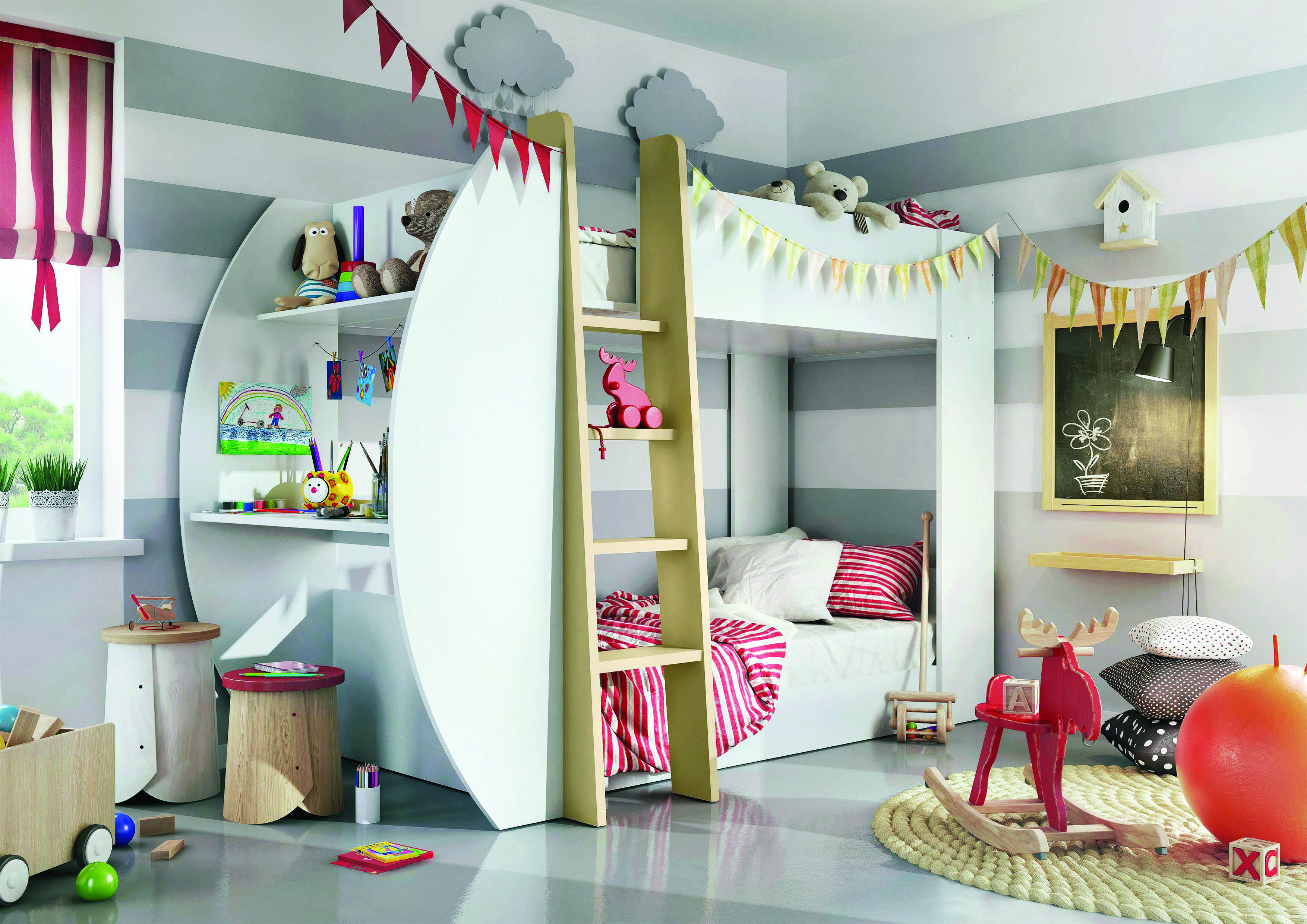 8 loft bedroom ideas for your tiny bed room kids bunk on wonderful ideas of bunk beds for your kids bedroom id=74231