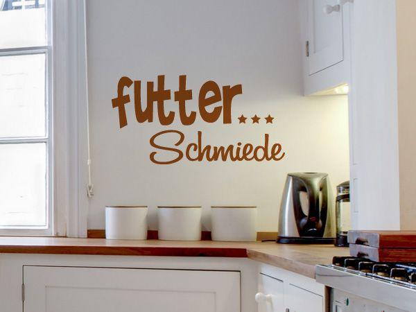 Wortspiel als Wandtattoo für Küche und Esszimmer Holzschilder