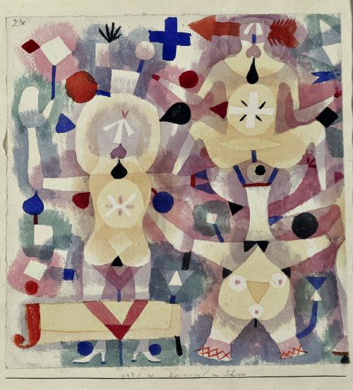 Pierre-Jean Maurel - thunderstruck9:  Paul Klee (Swiss-German 1879-1940) Karneval...