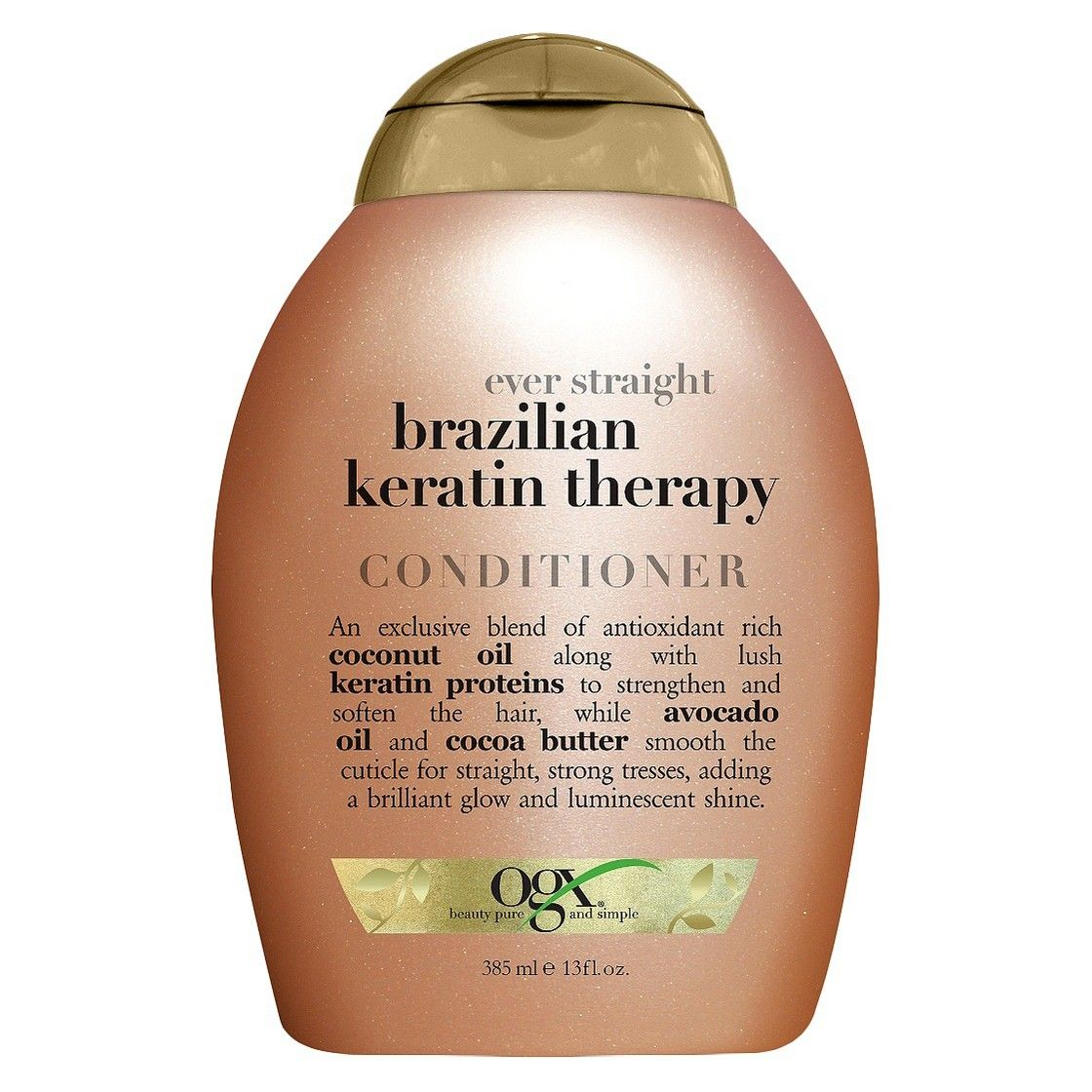 OGX Ever-Straight Brazilian Keratin Therapy Conditioner 13 oz.
