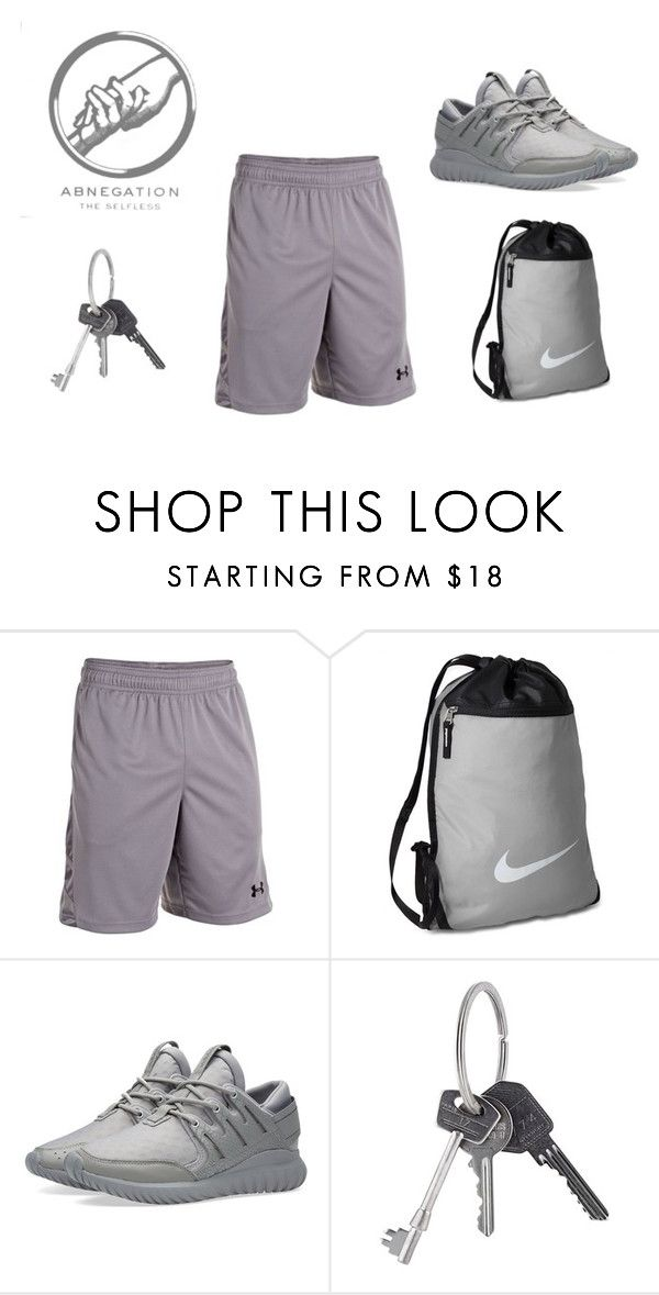 """""""Abnegation Gym"""" by hiltzerin-1 on Polyvore featuring Under Armour, NIKE, adidas, Givenchy, men's fashion and menswear"""