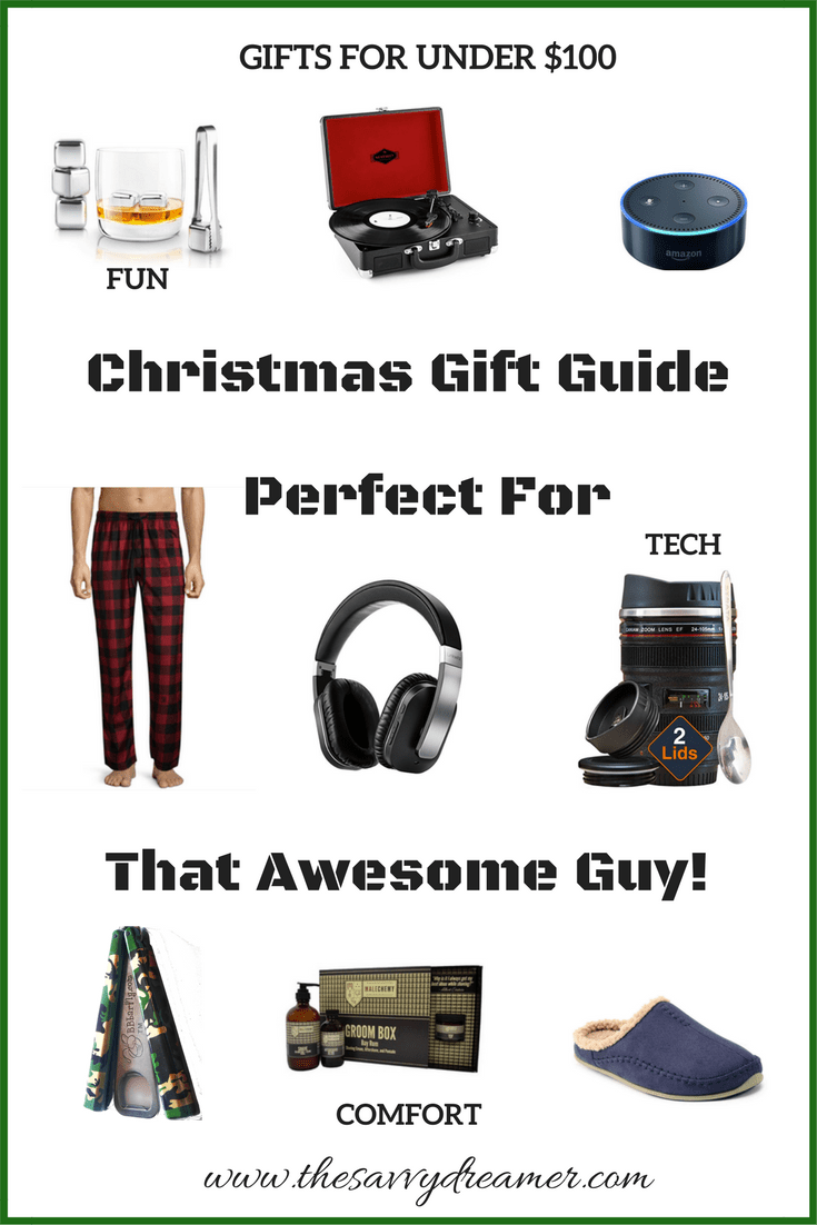 Christmas Gift Guide Perfect For That Awesome Guy! | Christmas gift ...