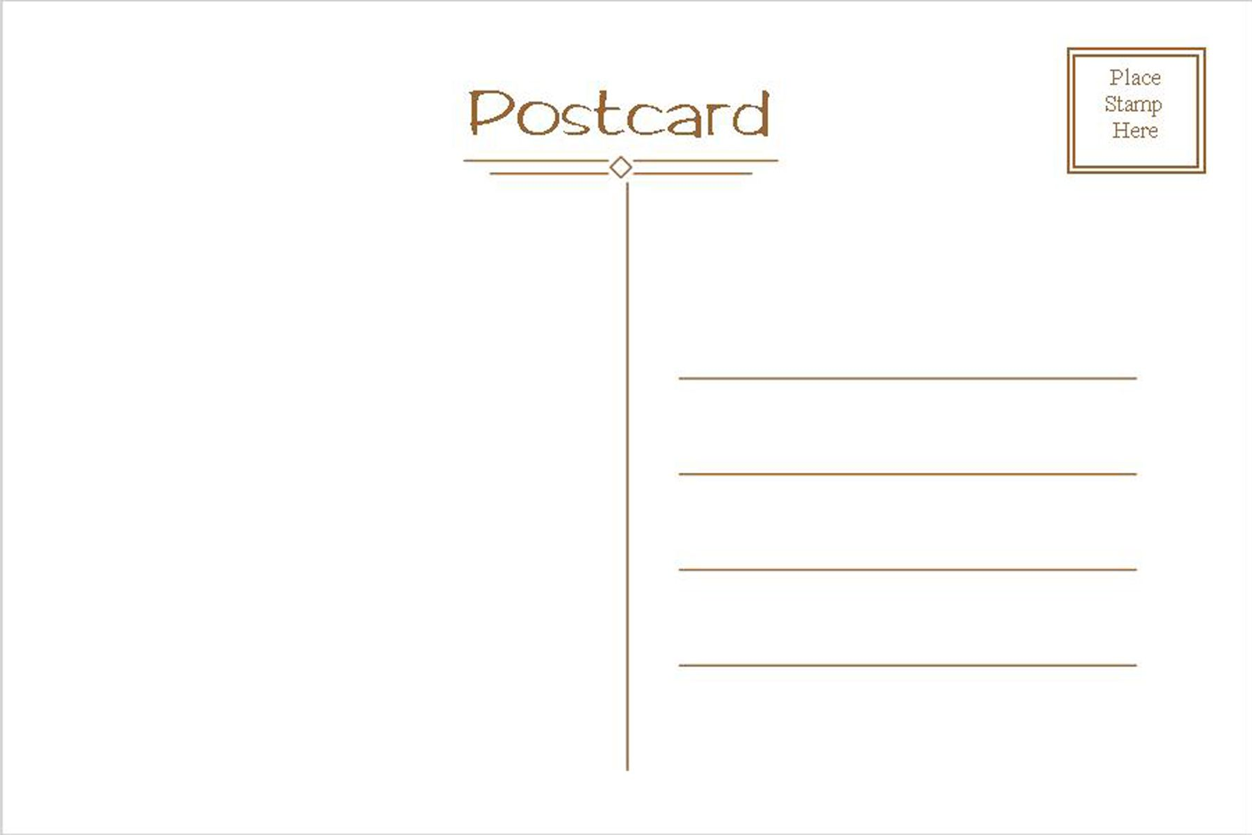 Making Fabric Postcards From Injured Prints Printable Postcards Postcard Template Free Free Postcards Postcard template front and back