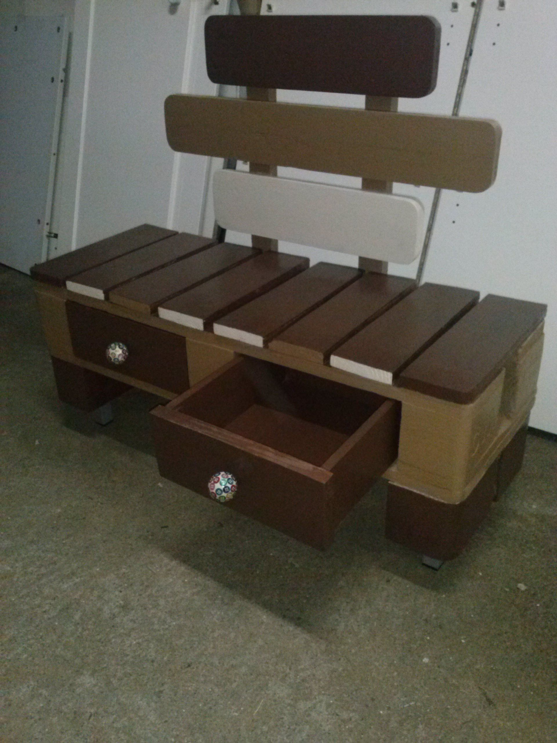 Bench For Putting On Shoes Furniture Pallet
