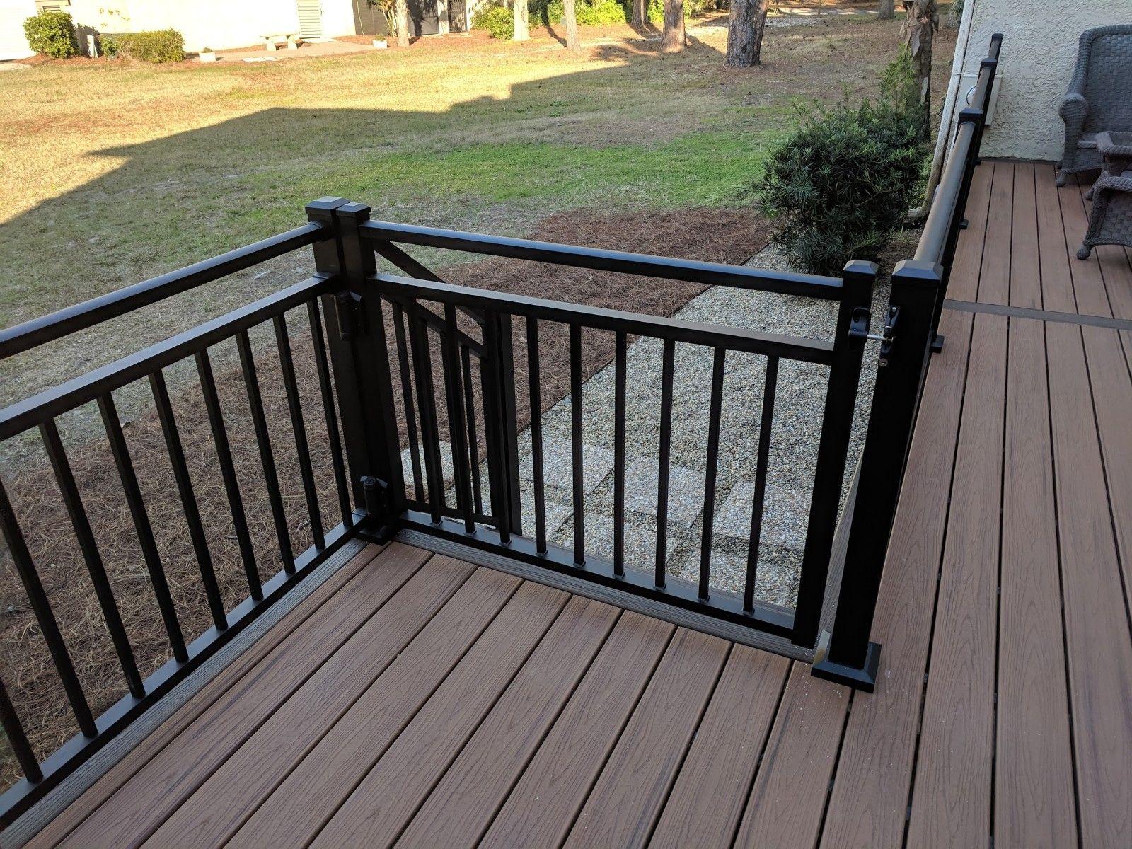 Westbury Riviera Aluminum Railing System Outdoor Deck Design Outdoor Deck