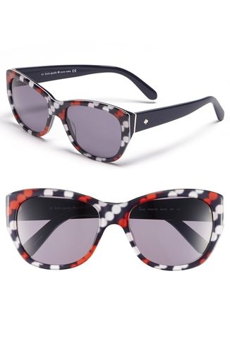 kate spade new york 'kia' 54mm cat eye sunglasses Diagonal Dots NONE from Nordstrom on Catalog Spree, my personal digital mall.
