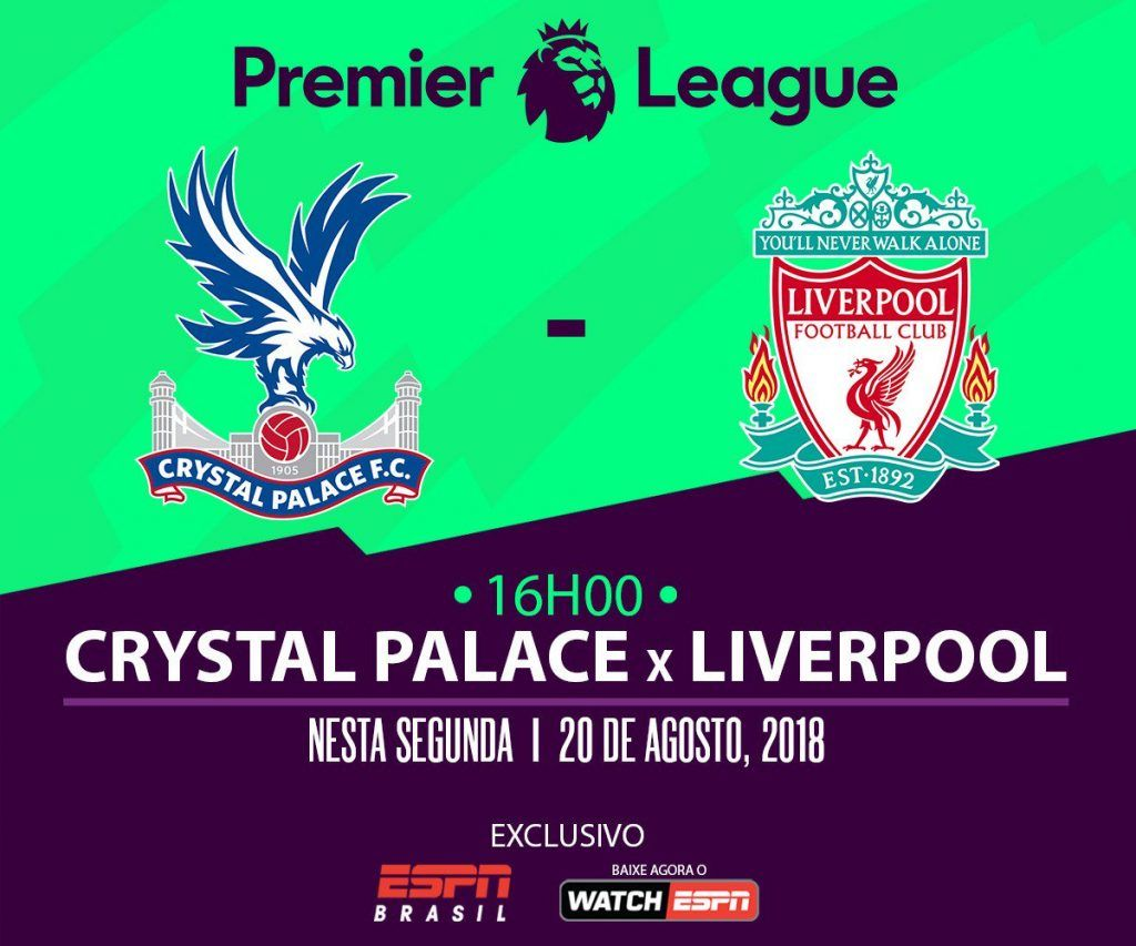 Ao Vivo Crystal Palace X Liverpool Em Tempo Real Liverpool