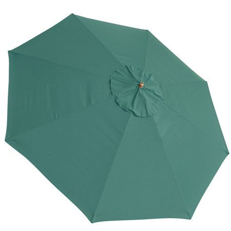 13ft 8 Ribs Umbrella Cover Canopy Green Replacement Top Patio Market