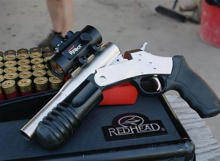 Rossi 12 Gauge Shotgun Pistol This is why shotguns have