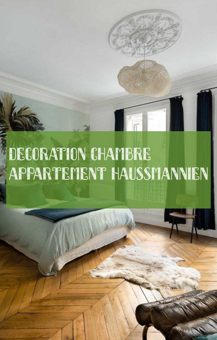 decoration chambre appartement haussmannien