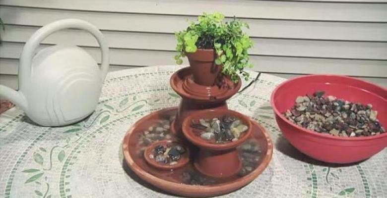 Comment fabriquer une fontaine en pots de terre cuite! Terracotta - Ou Trouver De La Terre De Jardin