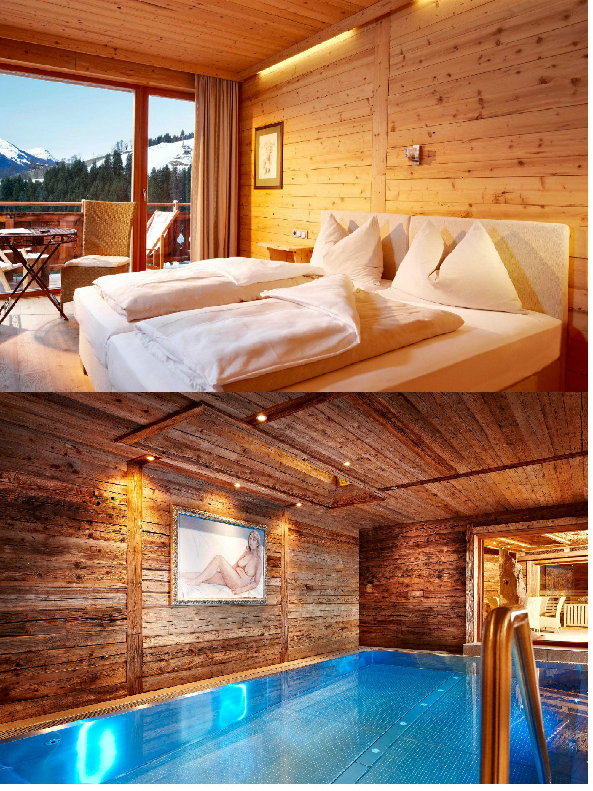 Art ski in hotel hinterhag alpine boutique hotel for Boutique hotel saalbach