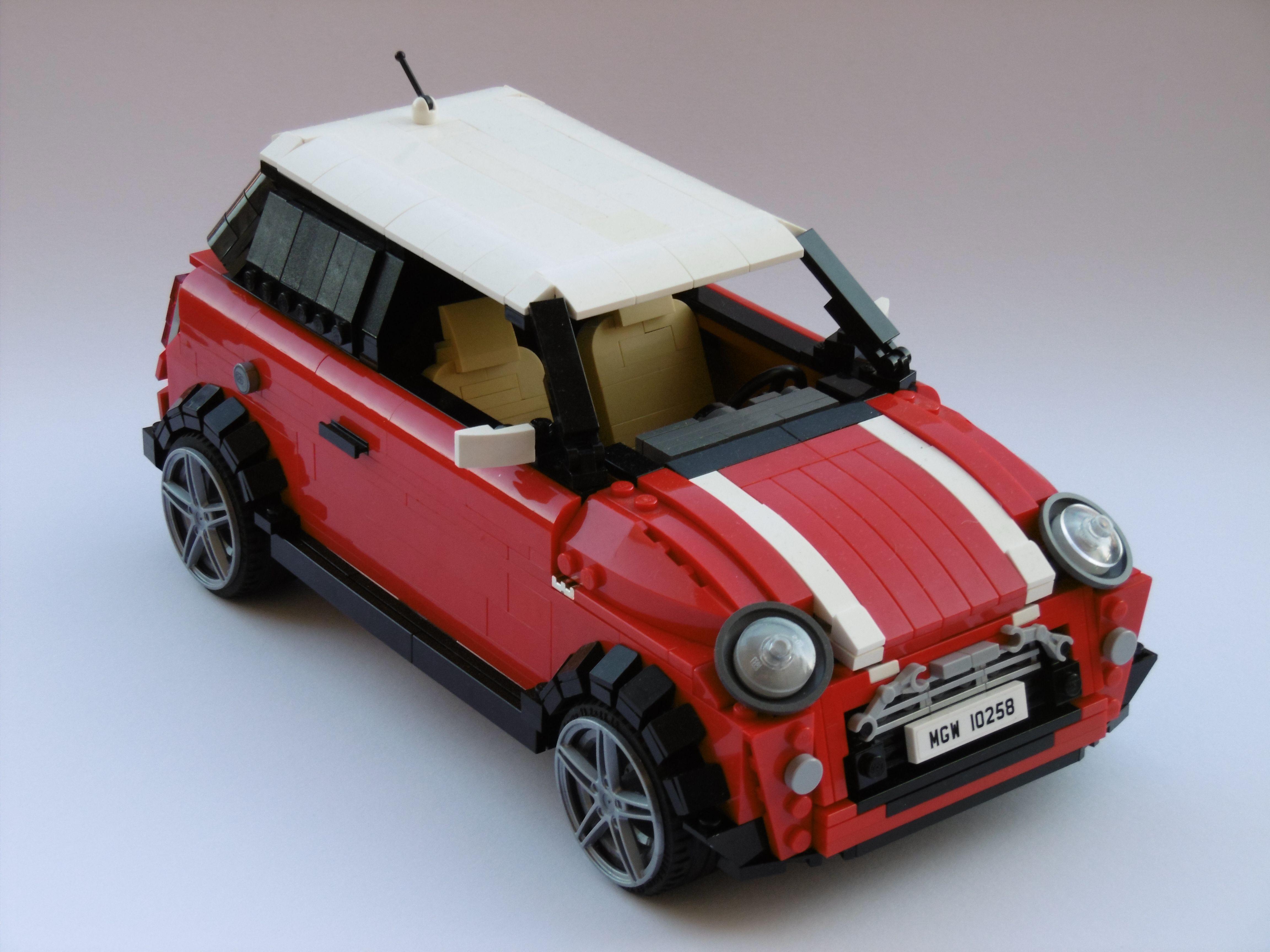 Lego Mini Cooper Lego Vintage Lego Creations Lego Lego