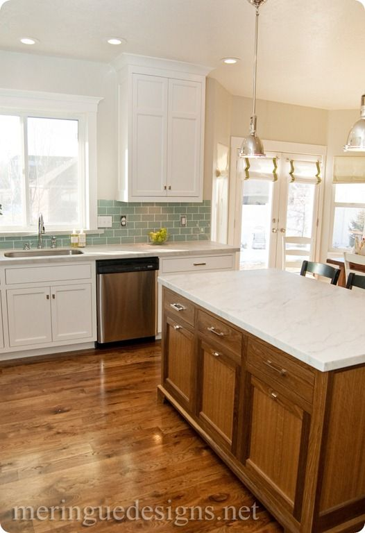 Deep Thoughts By Cynthia Kitchen Remodel Part 4 Kitchen Remodel Greige Kitchen Oak Cabinets