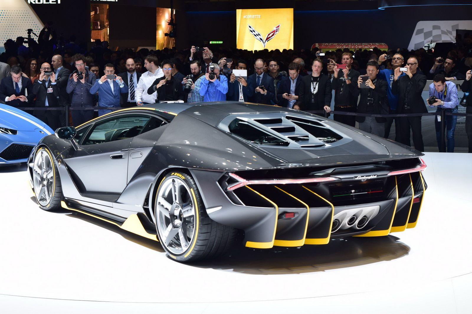 Lamborghini Centenario Making Uk Debut At Salon Prive Cars