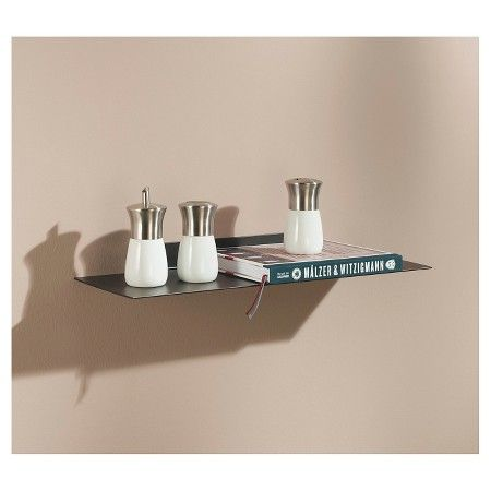 Target Floating Shelves Impressive Dolle Katana Floating Metal Wall Shelf 24  Bronze Brown  Katana Inspiration
