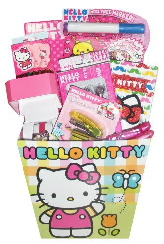 Hello kitty deluxe easter gift basket perfect for easter get hello kitty deluxe easter gift basket perfect for easter get well birthday negle Image collections