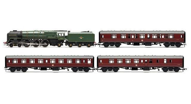 R3192 Hornby 00 Gauge Heritage Rail Express Mk1 Coaches Model Train Pack