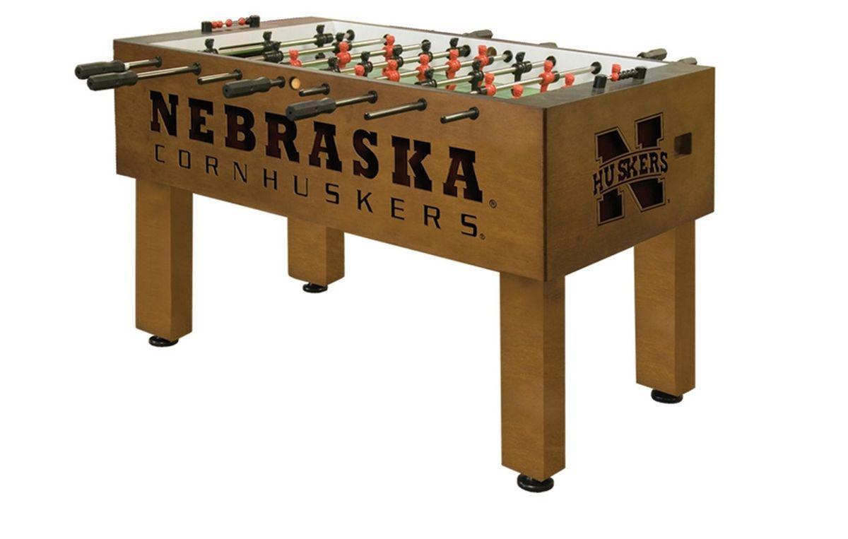 Nebraska Huskers Foosball Table from