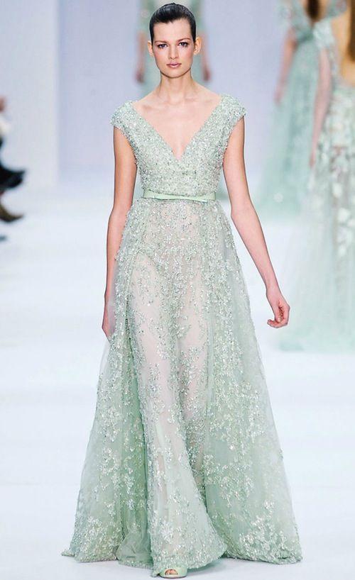 Elie Saab. Stunning. As always.
