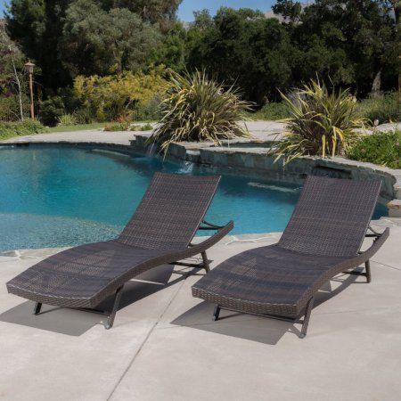 Portofino Chaise Lounge (set of 2) - Walmart.com