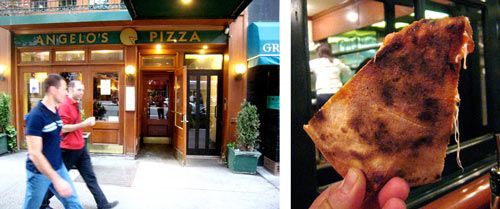 """Daily Slice: Cheese Pizza at Angelo's Coal Oven 