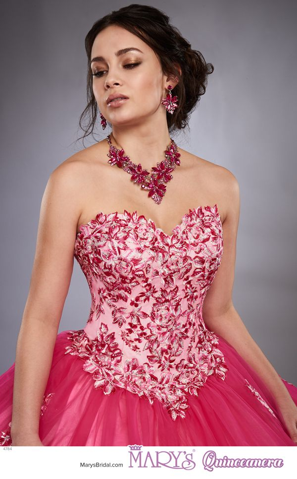 Beloving style 4784 • Strapless tulle sweetheart quinceanera ball ...