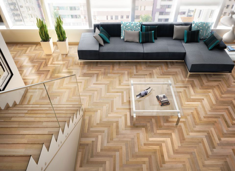 "Modern Wood Flooring contemporary living room from ""incredible parquet floors"". see"