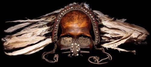 Tribal skull.