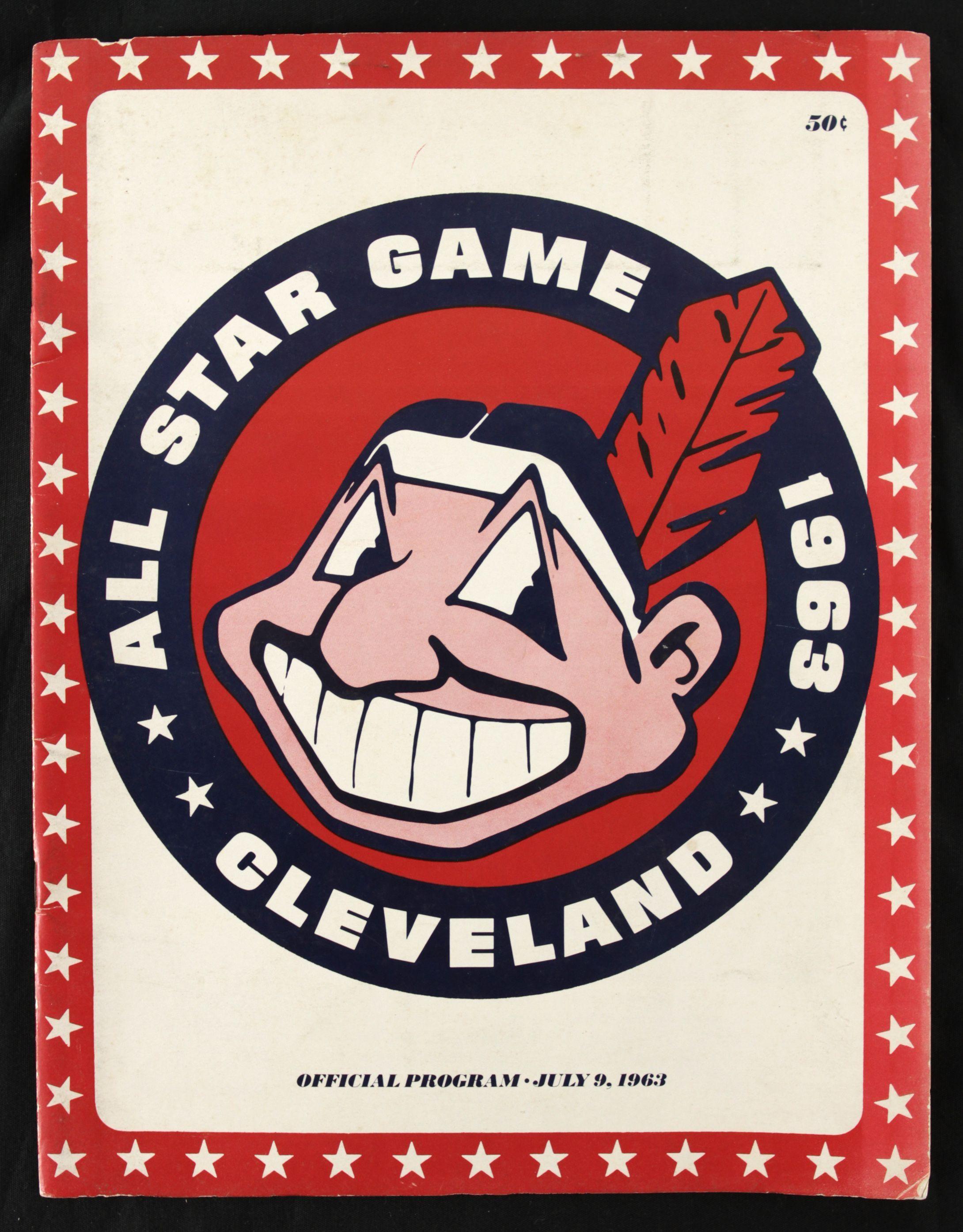 1963 All Star Game Yearbook Baseball posters, Baseball