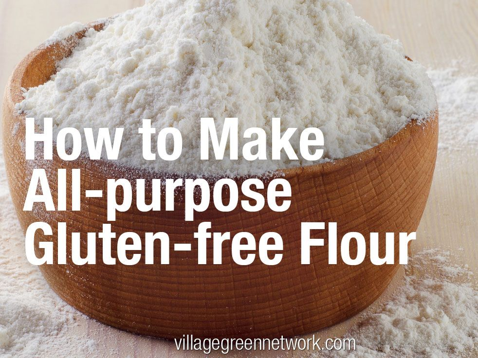 Recipe for All-purpose Gluten-free flour.  Not sure this would be good for a diabetic - high GI starches...