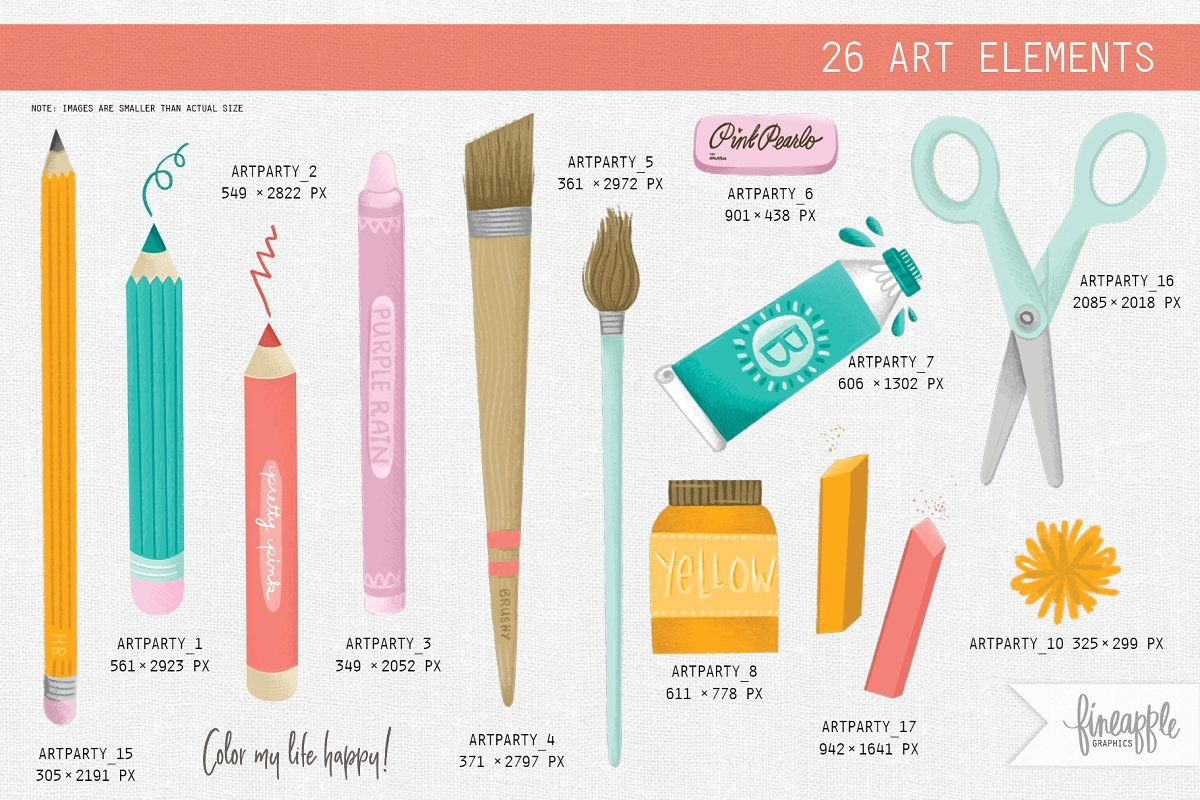 Arts And Crafts Clipart Clip Art Arts And Crafts Coordinating Patterns