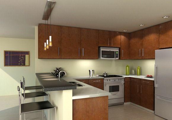 Modelos de cocinas modernas4 casa decoracion Modelos de decoracion de cocinas