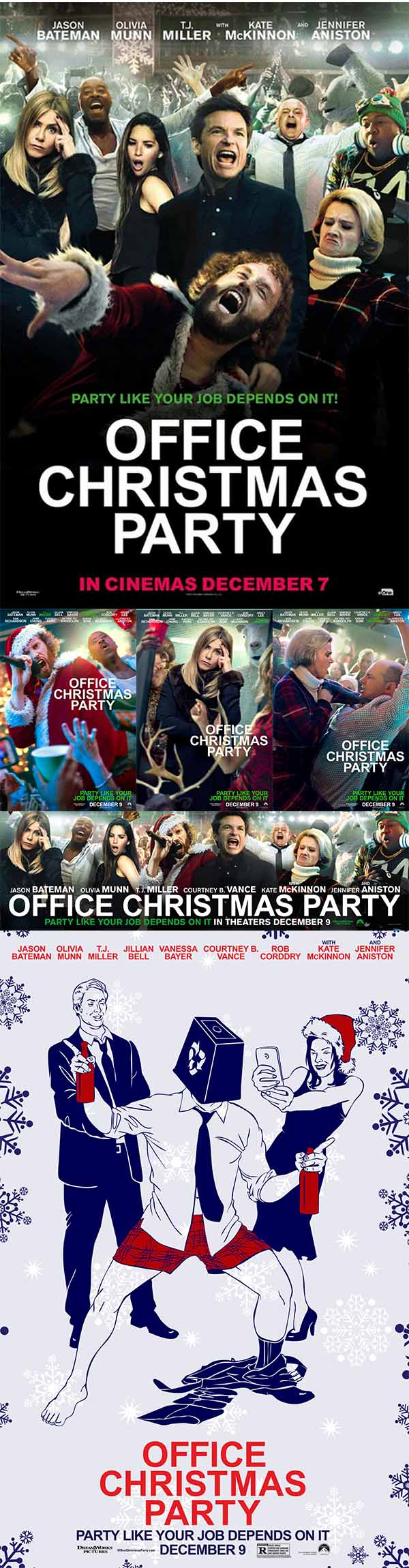 Movie Posters - Office Christmas Party Posters Posters 10 JPG   1382 ...