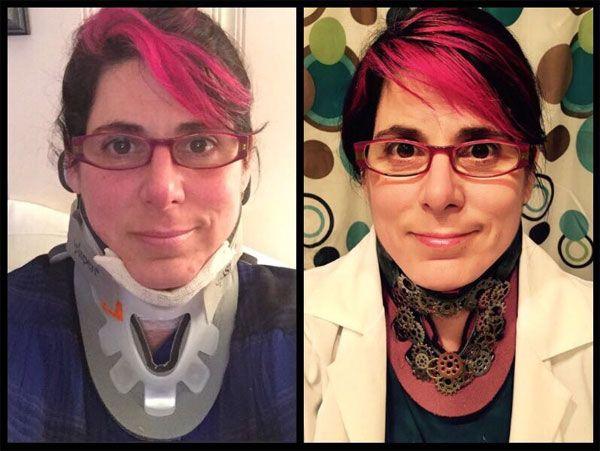 Steampunk Cervical Collar |