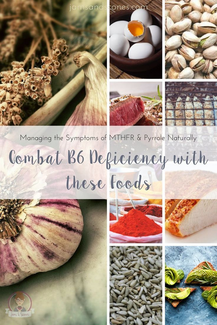 Vitamin B6 Deficiency: Dietary Sources, Supplements and