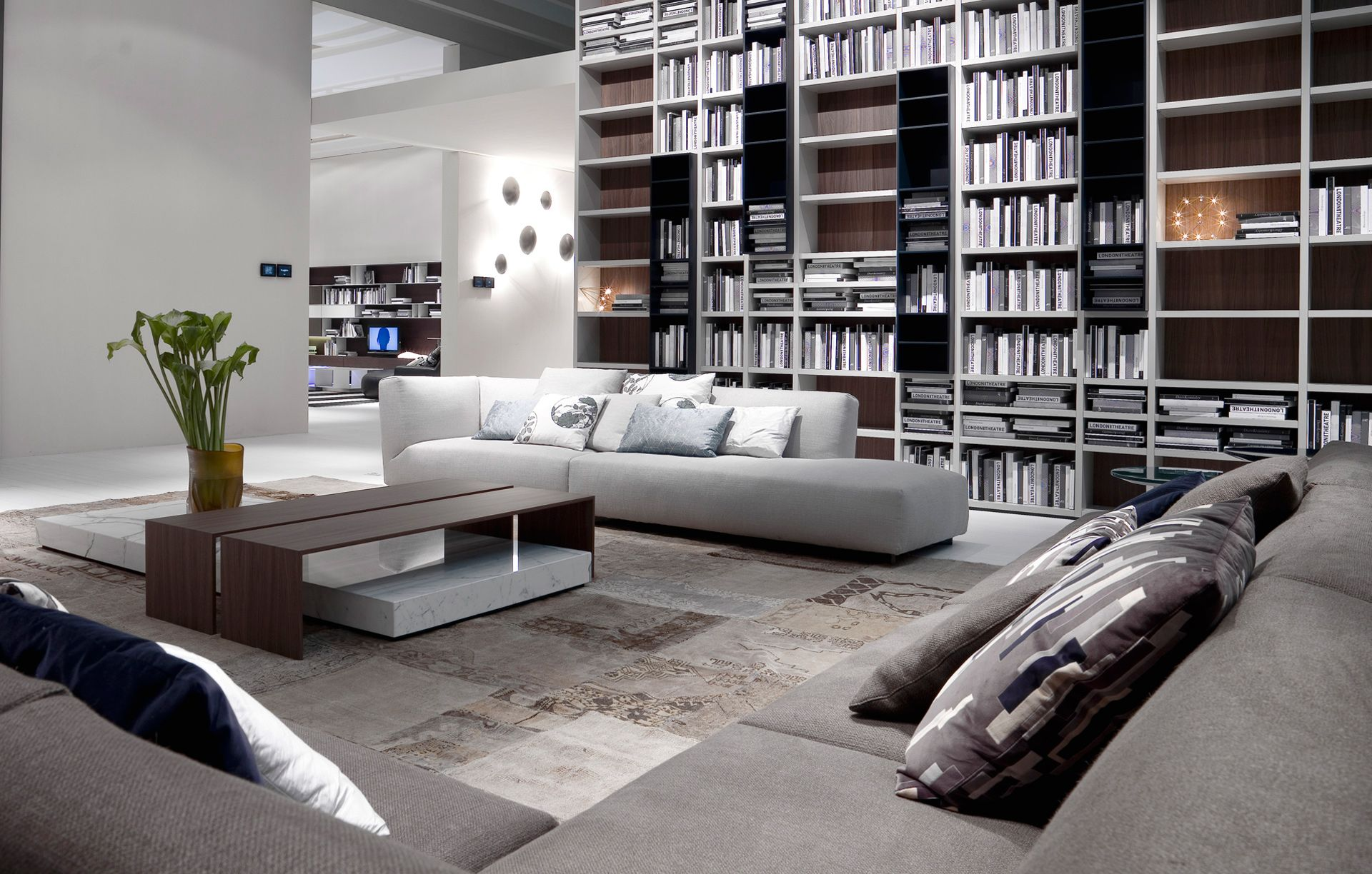 Poliform - Wall System   Product: Wall   Pinterest   Modular sofa ...