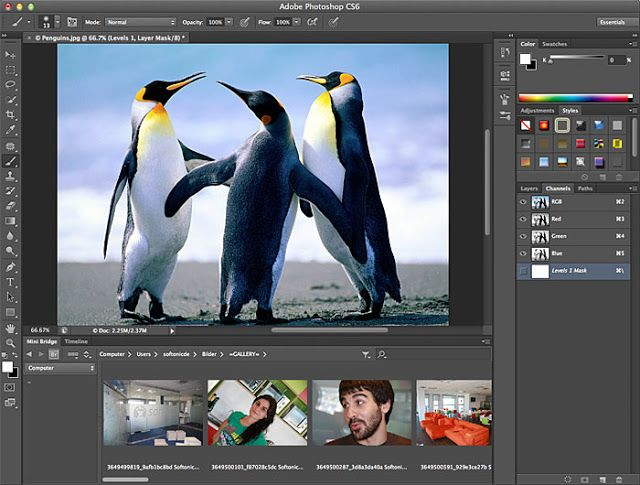 Download Adobe Photoshop CS6 (Highly Compressed to just 90MB) I know