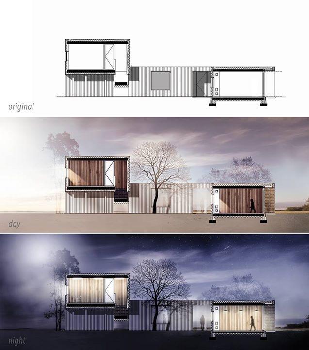 photoshop architecture photoshop pinterest rendu. Black Bedroom Furniture Sets. Home Design Ideas