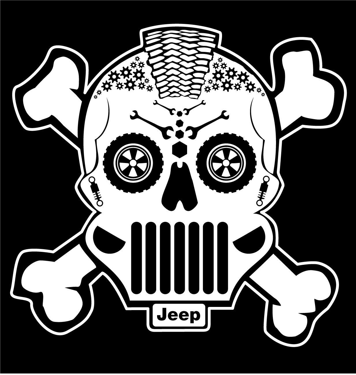 Pin By Elisa Fortes On Sugar Skull Designs Jeep Life Decal Sugar Skull Design Jeep Decals [ 1300 x 1233 Pixel ]