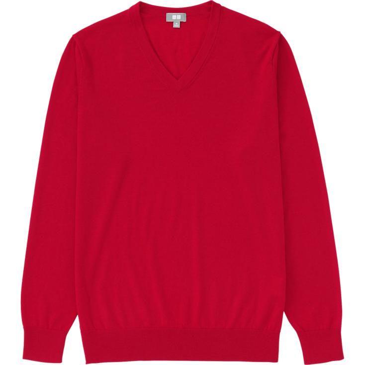 chercher meilleur fournisseur les clients d'abord MEN EXTRA FINE MERINO V-NECK SWEATER | UNIQLO | Sweaters for ...